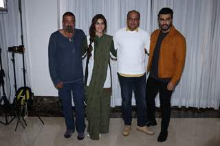 Sanjay Dutt, Kriti Sanon, Ashutosh Gowariker and Arjun Kapoor snapped during the promotions of Panipat