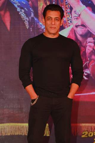 Salman Khan at the song launch