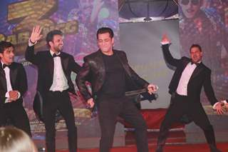 Salman Khan sets the stage on fire during the song launch