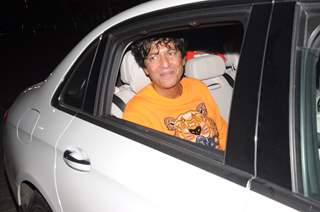 Chunky Panday attends the special screening of Pati Patni Aur Woh