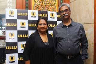 Pratima Kazmi with her husband Kannan Arunachalam