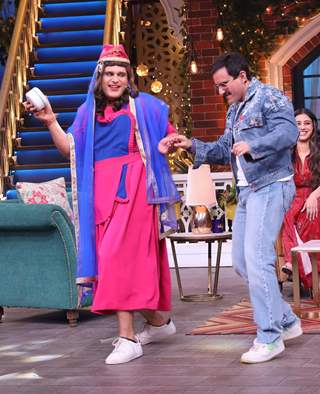 Krushna Abhishek and Saif Ali Khan