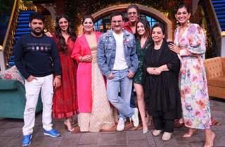 Kapil Sharma, Tabu, Archana Puran Singh, Saif Ali Khan, Chunky Pandey, Alaya, Kubbra Sait and Farida Jalal