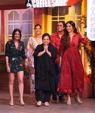 Alaya, Tabu, Kubbra Sait, Farida Jalal and Chunky Pandey