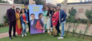 Cast of Kartik Purnima at the Mumbai Launch