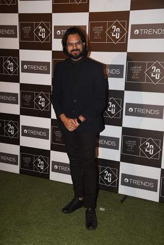 Rahul Mishra spotted at Lakme Fashion Week
