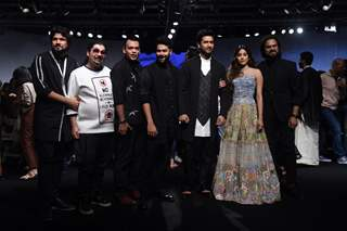 Vicky Kaushal and Janhvi Kapoor walked the ramp at Lakme Fashion Week