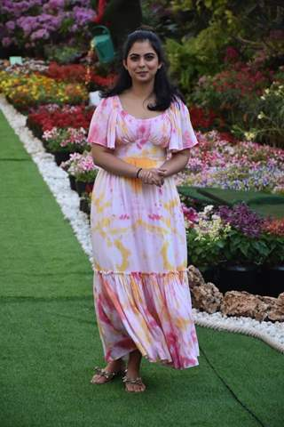 Isha Ambani at her house holi party.