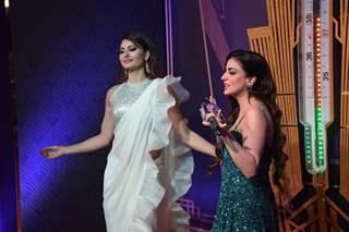 Shraddha Arya and Urvashi Rautela