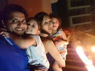 Karanvir Bohra with Family
