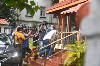 Madhu Mantena and Dhruv Chitgopekar arrive for NCB questioning!