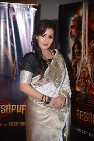 Shilpa Shinde at the promotions of Paurashpur!