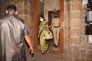 Arjun Rampal's sister Komal Rampal snapped leaving NCB office!