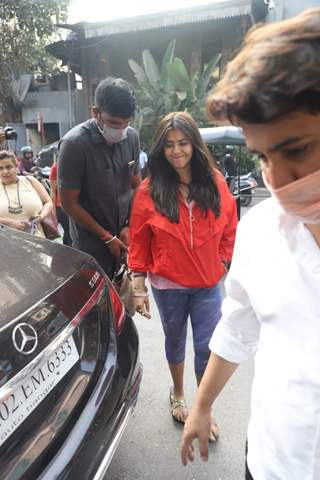 Ekta Kapoor snapped at Bandra