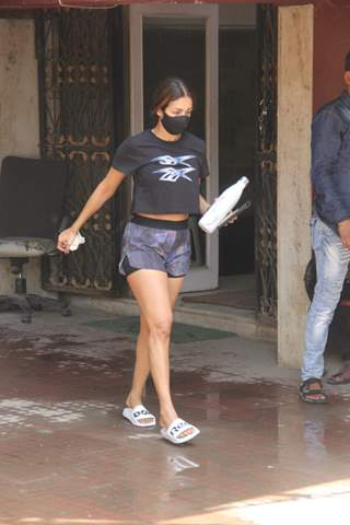 Malaika Arora snapped at pilates