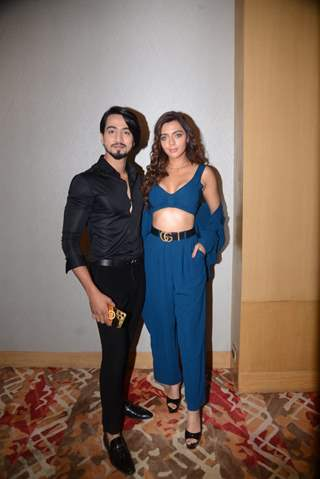 Faisal Shaikh and Ruhi Singh at the promotions of 'Bang Bang'