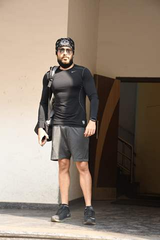 Emraan Hashmi snapped at iThink Fitness