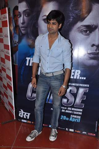 Manish Goel in music launch of Chase movie