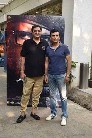Rumi Jaffery and Anand Pandit at Chehre Trailer preview in Juhu, Mumbai