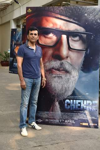 Anand Pandit at Chehre Trailer preview in Juhu, Mumbai