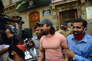 Ajaz Khan escorted to the court by NCB officers