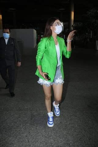 Urvashi Rautela snapped at Mumbai airport