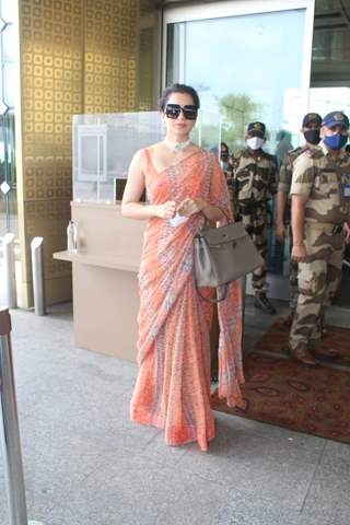 Kangana Ranaut leaves for Manali after recovering from Covid-19!