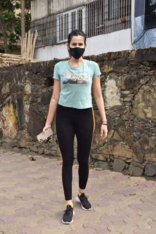 Sonnalli Seygall snapped in Versova, Mumbai