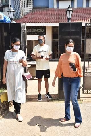 Ankita Lokhande snapped with boyfriend Vicky Jain in Juhu