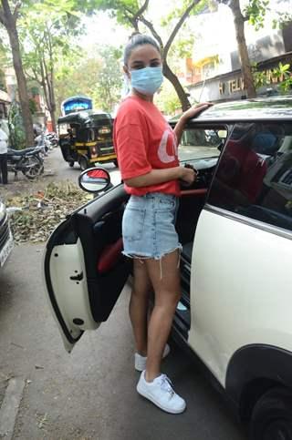 Jasmin Bhasin snapped in Andheri