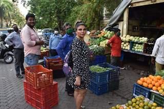 Rakhi Sawant snapped at Lokhandwala, Andheri