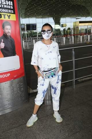 Tina Dutta snapped at airport