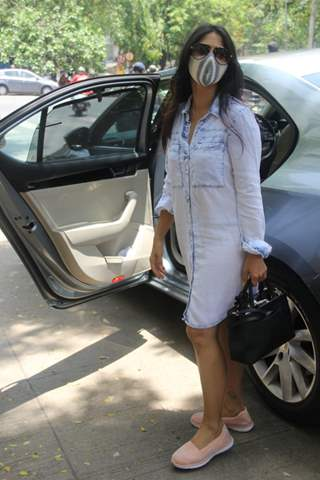 Tanishaa Mukerji spotted in Bandra