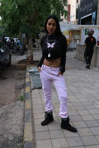Kashmira Shah spotted in Bandra