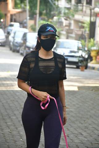 Sophie Choudry steps out for a stroll