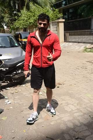 Television star Karan Patel snapped in Andheri