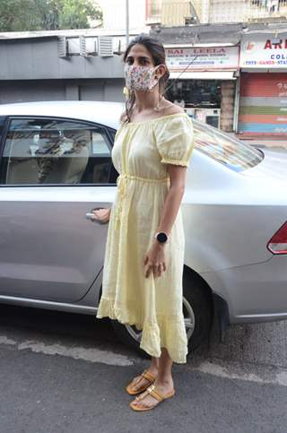 Aahana Kumra spotted in Lokhandwala
