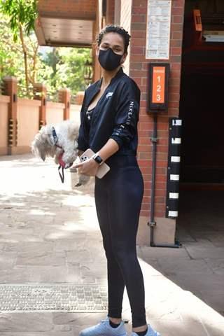 Aisha Sharma spotted in Bandra