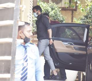 Ajay Devgn spotted at Juhu