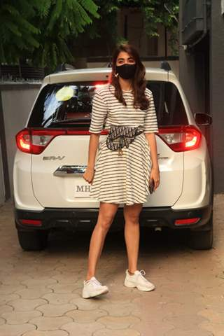 Pooja Hegde spotted at Bandra