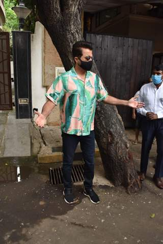 Anil Kapoor spotted at a tree plantation drive on 'World Environment Day 2021'!