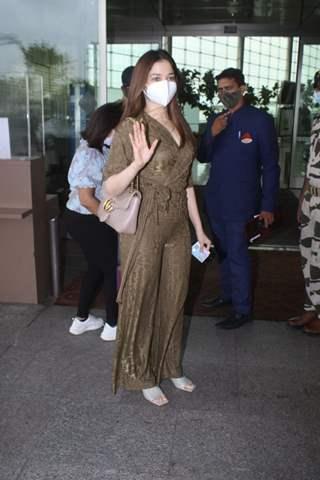 Tamannaah Bhatia snapped at airport