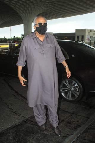 Boney Kapoor snapped at Mumbai airport