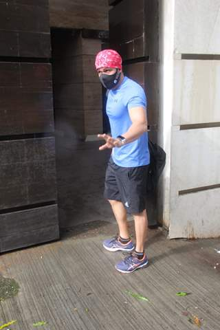 Emraan Hashmi snapped at gym