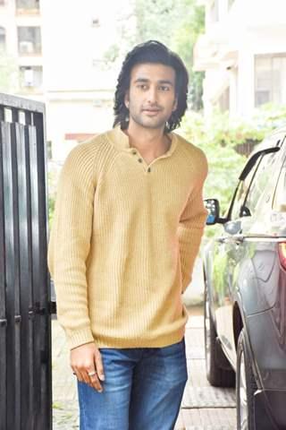 Meezaan Jaffery at the promotions of 'Hungama 2'