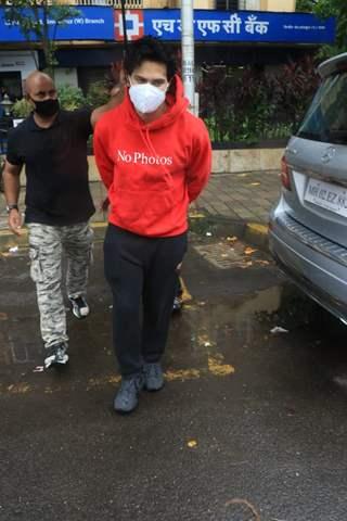 Varun Dhawan snapped at Santacruz