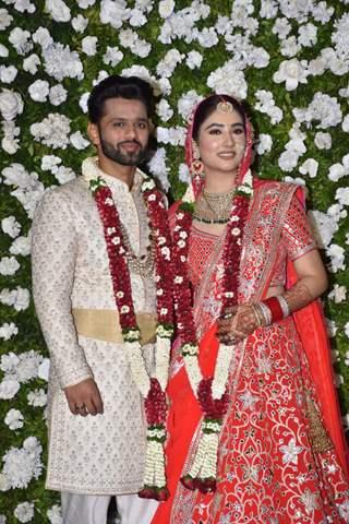 Inside Rahul Vaidya and Disha Parmar's wedding