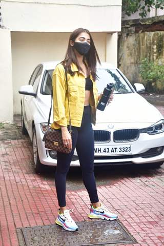 Pooja Hegde snapped at Pilates