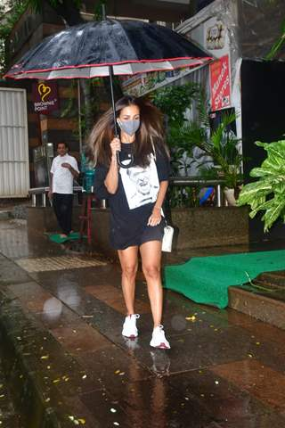 Malaika Arora snapped at Muah salon