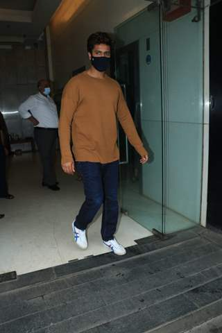 Vicky Kaushal snapped around the town